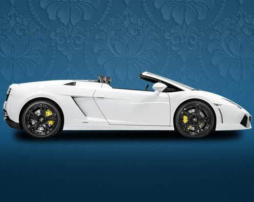 Lamborghini Gallardo LP560-4 Spyder hire
