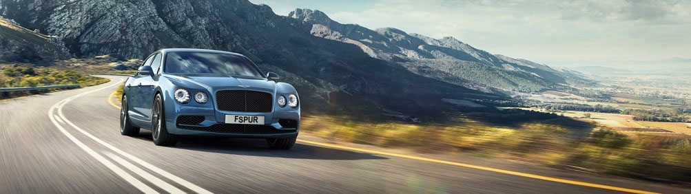 driving a bentley flying spur