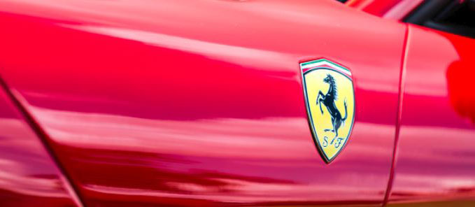 The Ferrari Badge